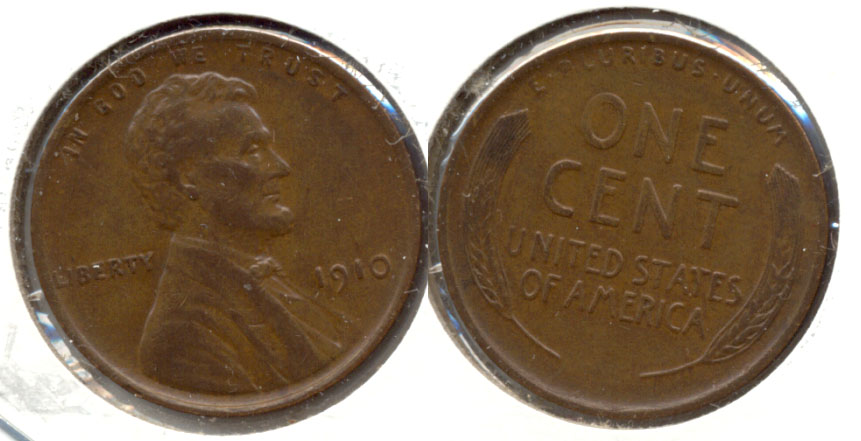 1910 Lincoln Cent EF-45 c