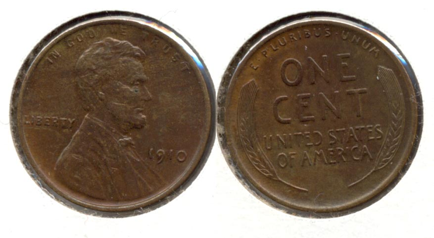 1910 Lincoln Cent MS-60 Brown a