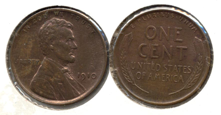 1910 Lincoln Cent MS-60 Brown b