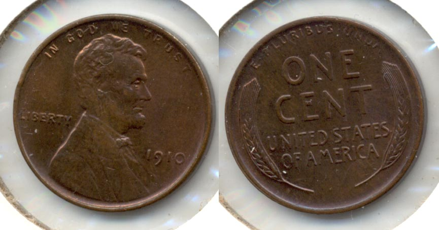 1910 Lincoln Cent MS-63 Brown