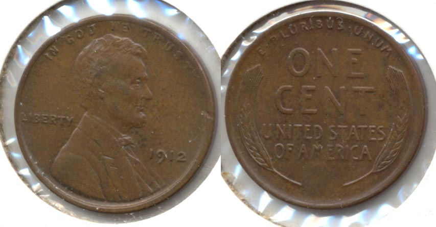 1912 Lincoln Cent MS-63 Brown
