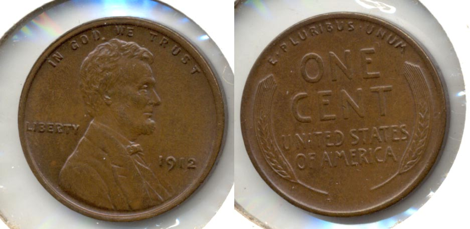 1912 Lincoln Cent MS-63 Brown a