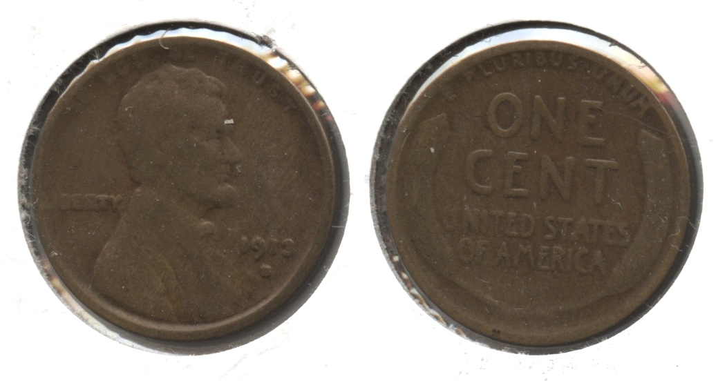 1913-S Lincoln Cent Good-4 #d
