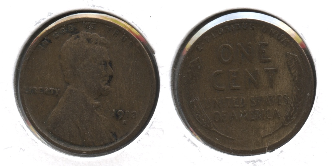 1913-S Lincoln Cent VG-8 #q
