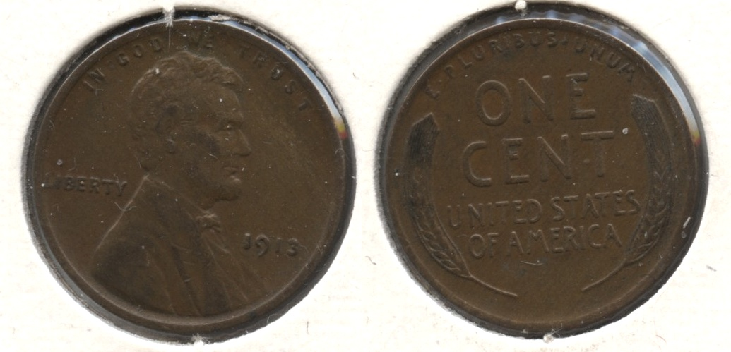 1913 Lincoln Cent EF-40 #b
