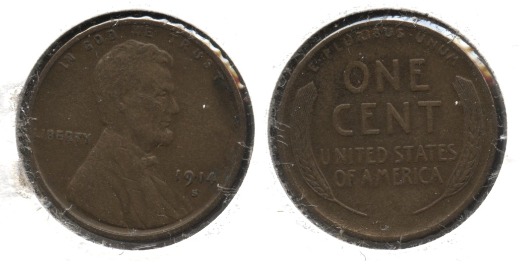 1914-S Lincoln Cent EF-40