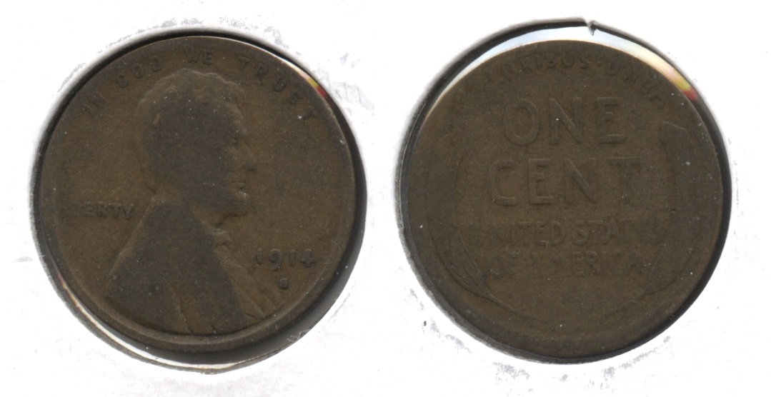 1914-S Lincoln Cent Good-4 #q