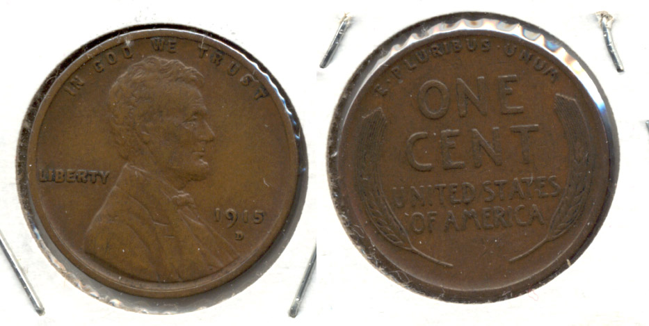 1915-D Lincoln Cent EF-40 b