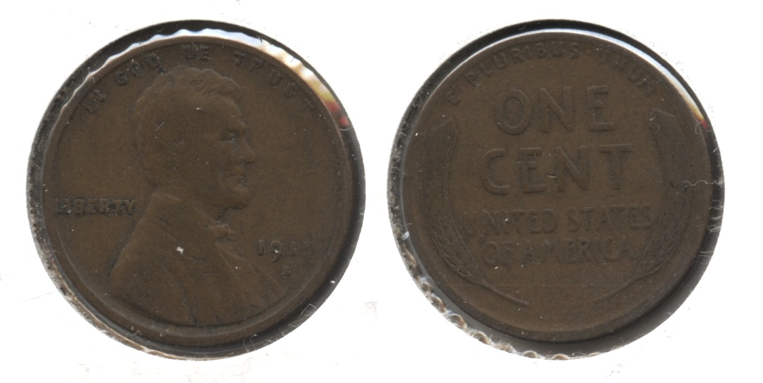 1915-S Lincoln Cent Fine-12 #ac