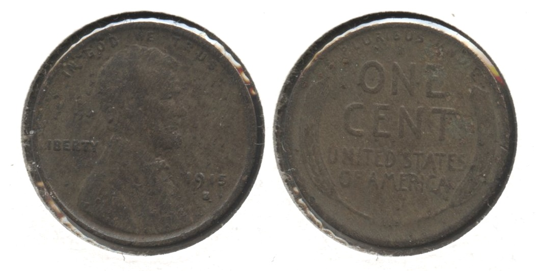 1915-S Lincoln Cent Fair-2 #f