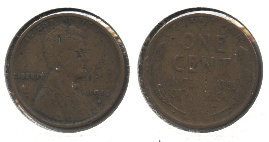1915-S Lincoln Cent Fair-2 #g