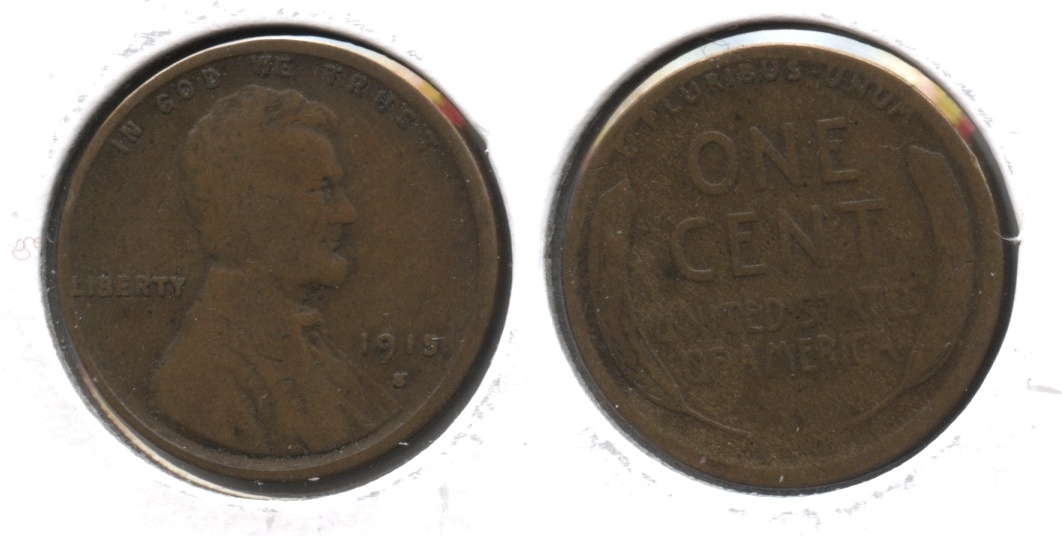 1915-S Lincoln Cent Good-4 #a