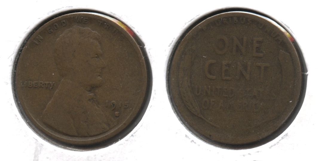 1915-S Lincoln Cent Good-4 #c