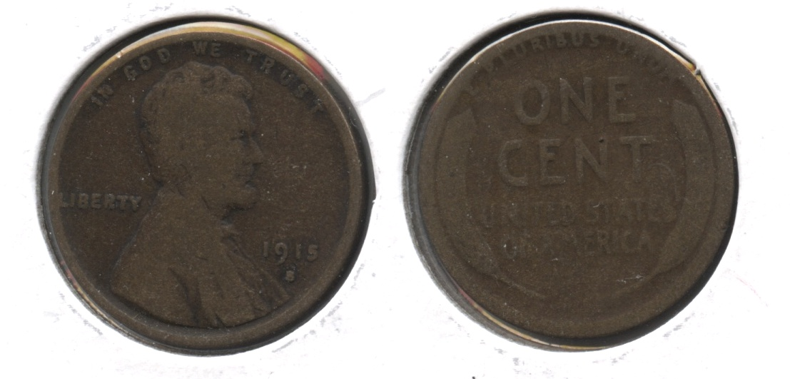 1915-S Lincoln Cent Good-4 #m