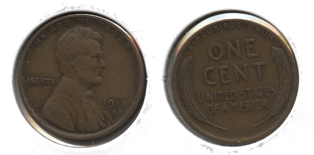 1915-S Lincoln Cent VF-20 #g