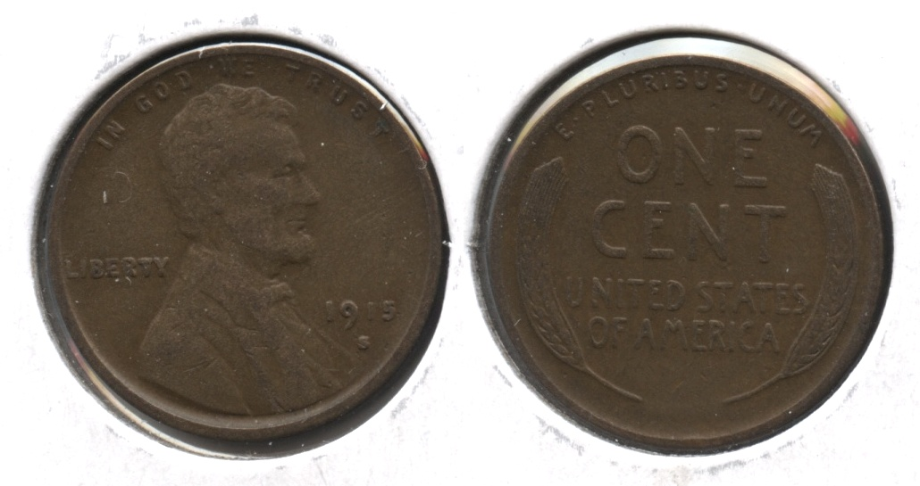 1915-S Lincoln Cent VF-20 #i