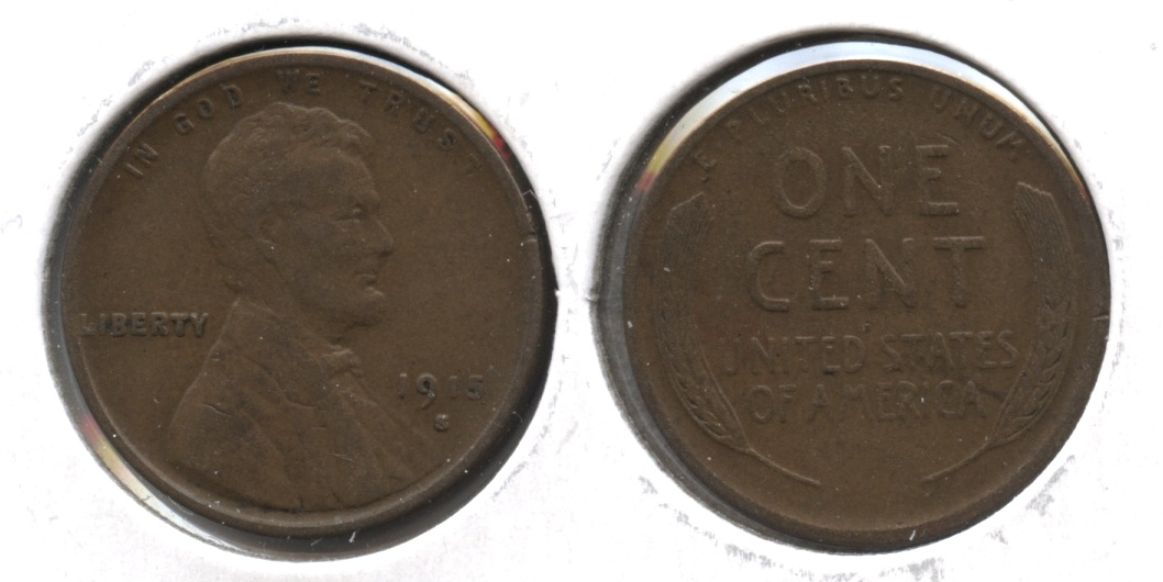 1915-S Lincoln Cent VF-20 #m