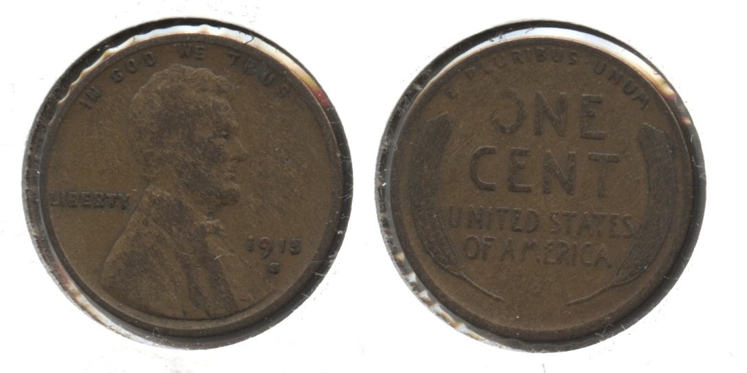1915-S Lincoln Cent VG-8 #i