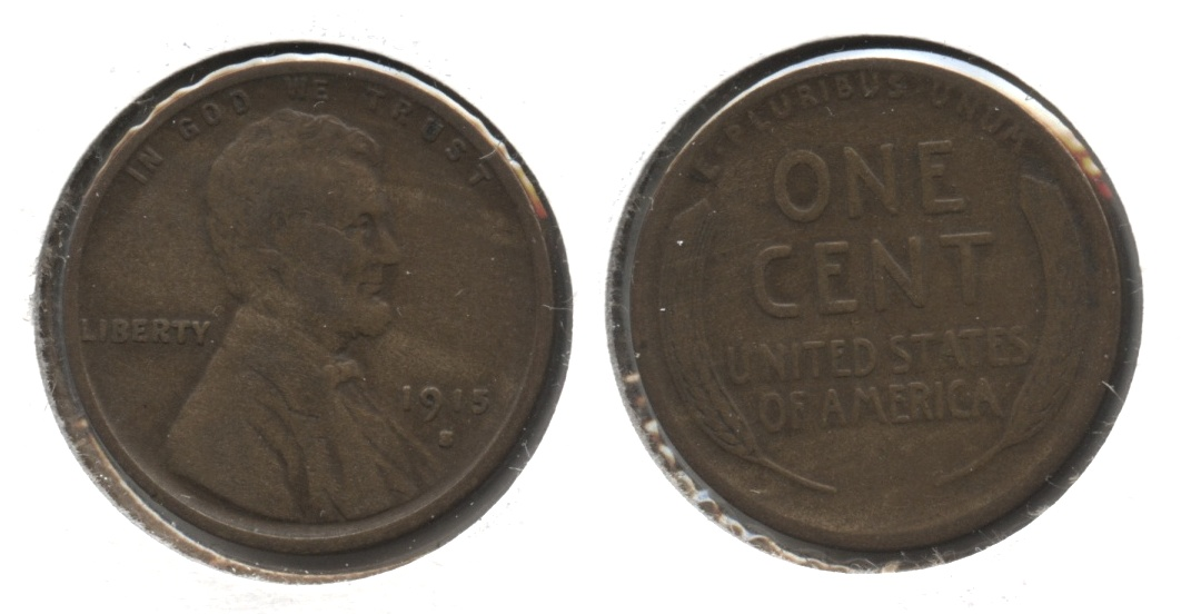 1915-S Lincoln Cent VG-8 #l