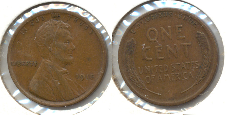 1915 Lincoln Cent EF-40