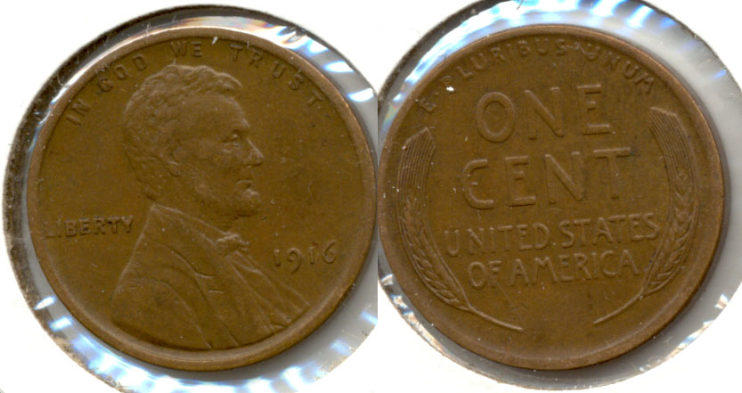 1916 Lincoln Cent EF-45 a