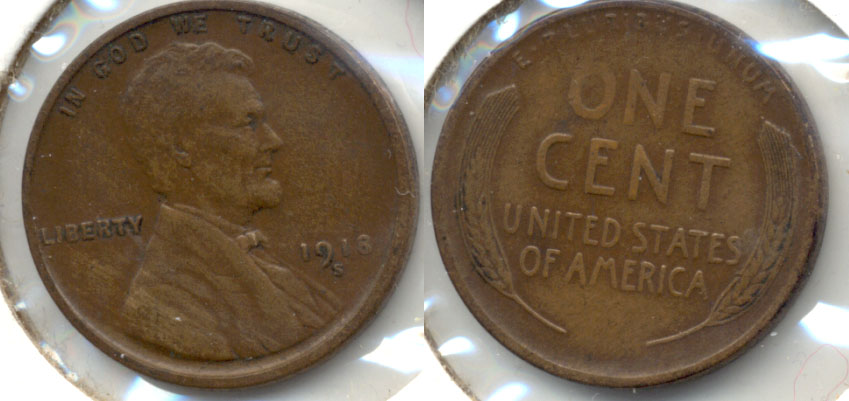 1918-S Lincoln Cent EF-40 c