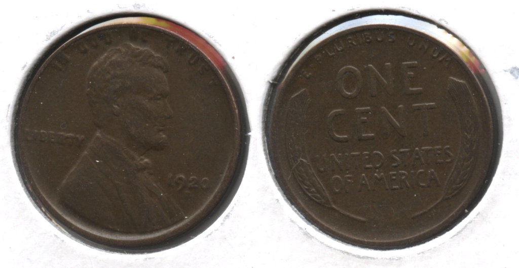1920-D Lincoln Cent EF-40 #f