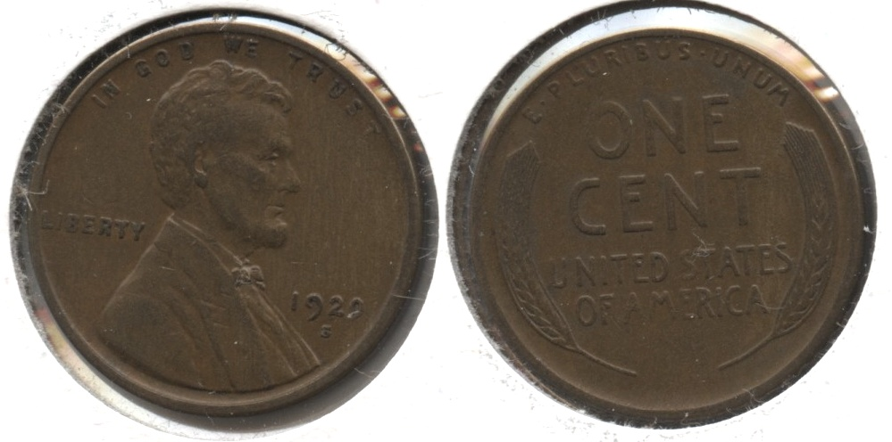 1920-S Lincoln Cent EF-40 #j