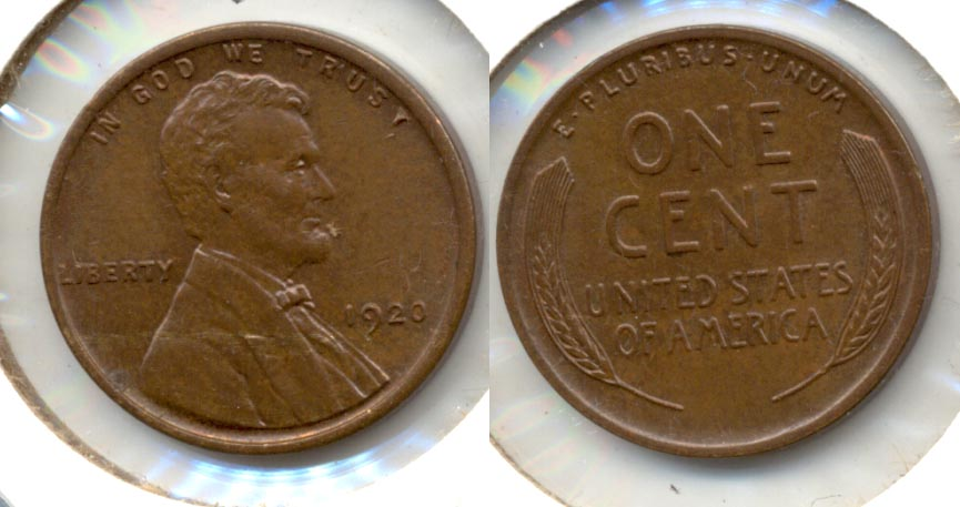 1920 Lincoln Cent MS-63 Brown
