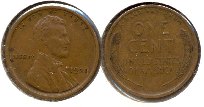 1921 Lincoln Cent EF-45 a