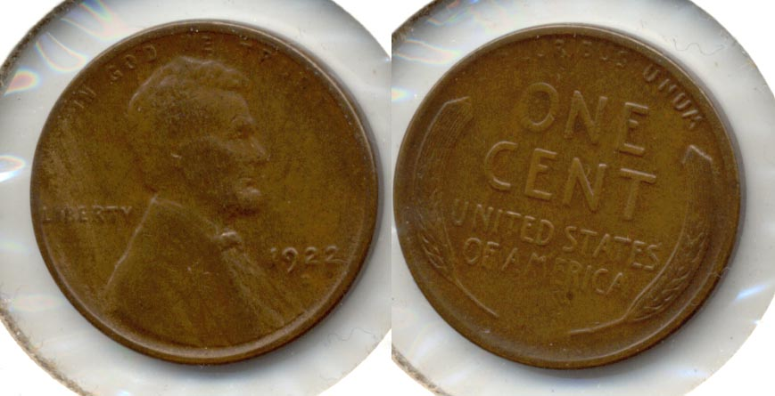 1922-D Lincoln Cent EF-40 c