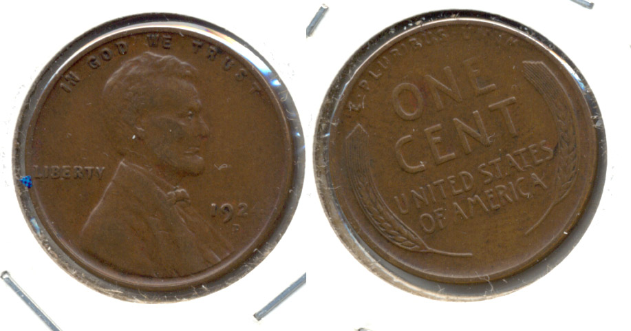 1924-D Lincoln Cent EF-40 a