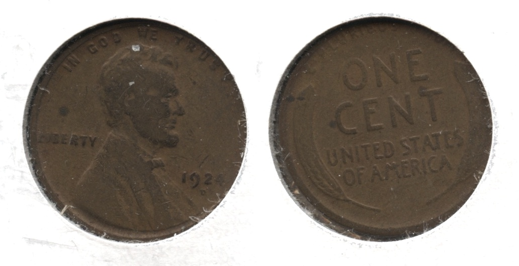 1924-D Lincoln Cent Good-4