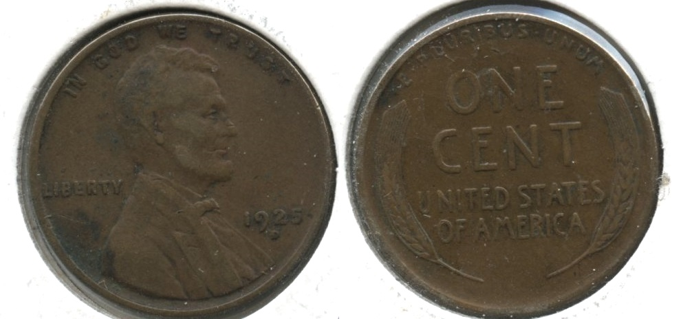 1925-D Lincoln Cent EF-40 #f Some Matter