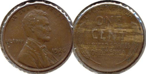 1926-D Lincoln Cent EF-40 a