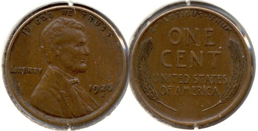 1926-S Lincoln Cent EF-40 c