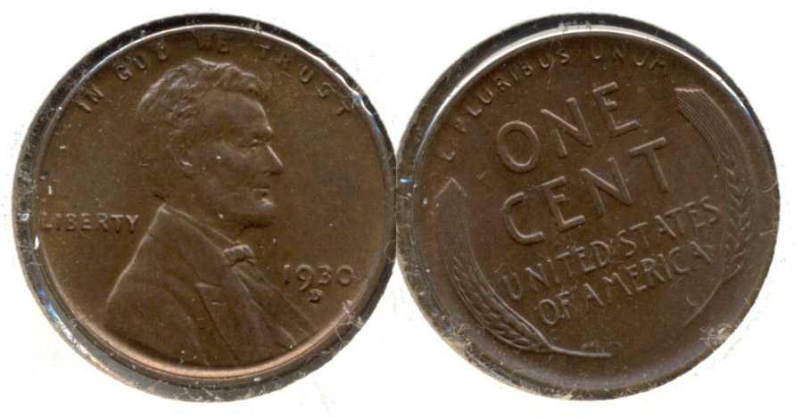 1930-D Lincoln Cent MS-63 Brown a