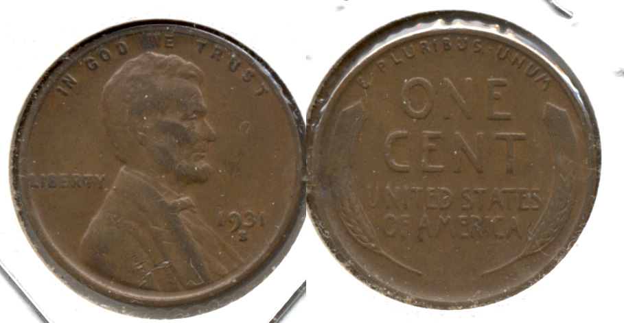 1931-S Lincoln Cent VF-20 c