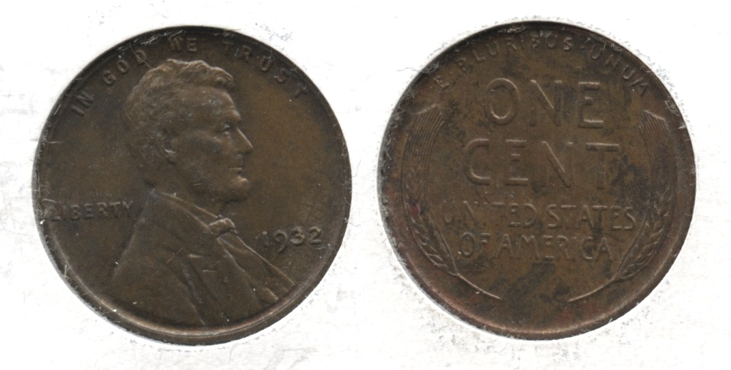 1932 Lincoln Cent MS-60 Ugly