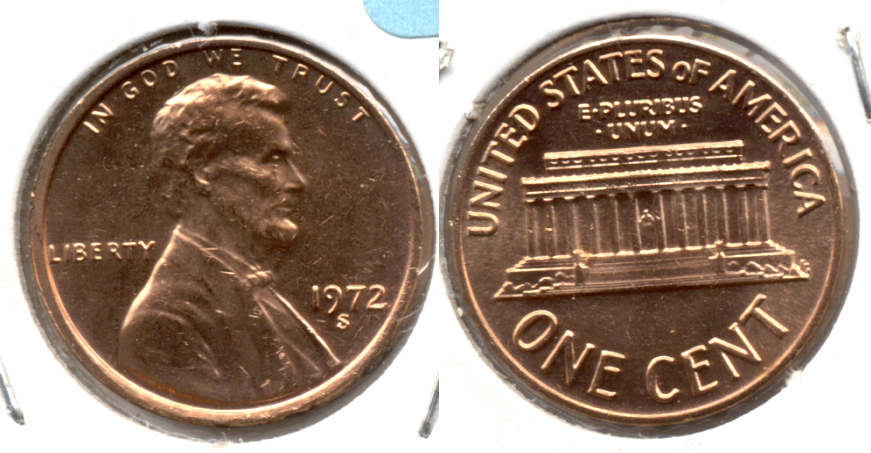 1972-S Lincoln Memorial Cent Mint State