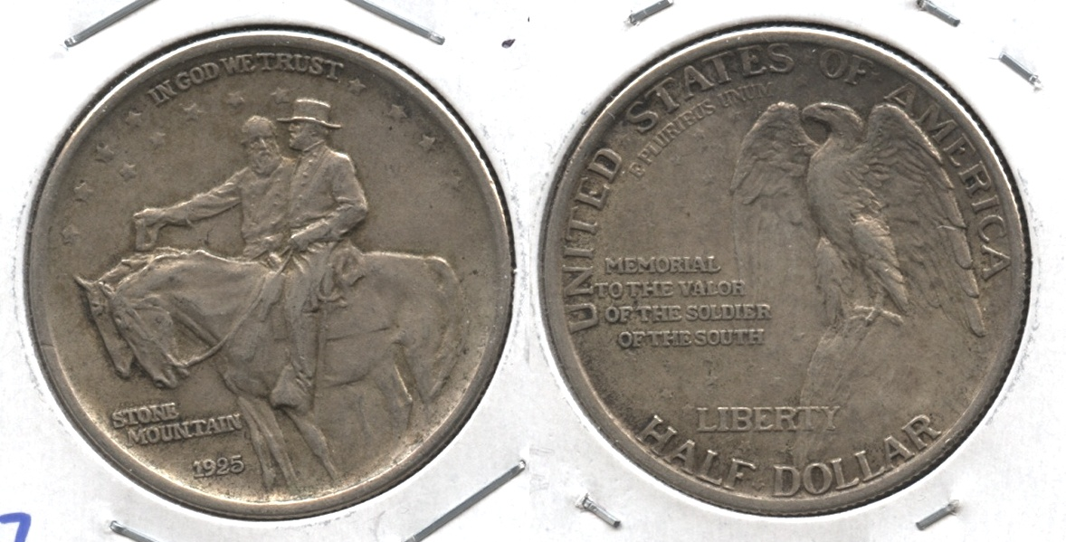 1925 Stone Mountain Commemorative Half Dollar EF-40 #g
