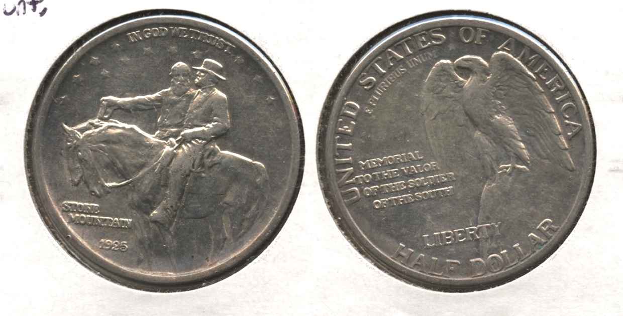 1925 Stone Mountain Commemorative Half Dollar EF-40 #m