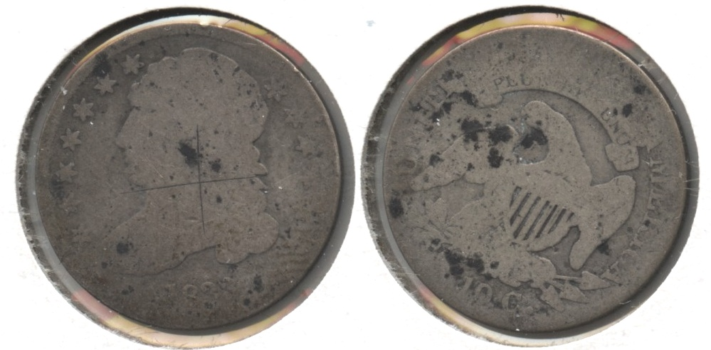 1833 Capped Bust Dime Fair-2