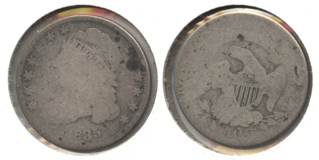 1835 Capped Bust Dime Fair-2 #c