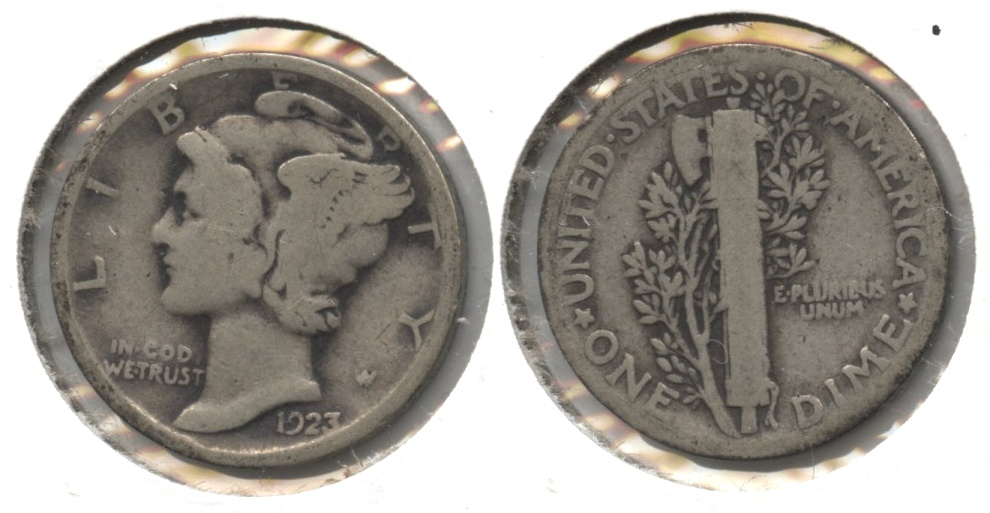 1923 Mercury Dime Good-4 #ay