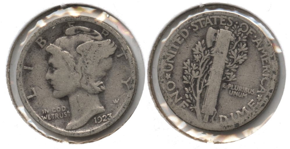 1923 Mercury Dime Good-4 #o