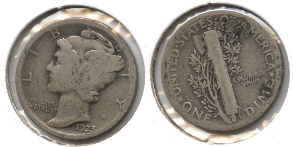 1923 Mercury Dime Good-4 #r