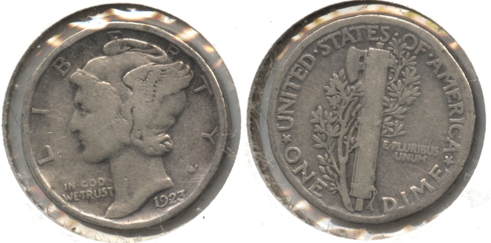 1923 Mercury Dime Good-4 #x