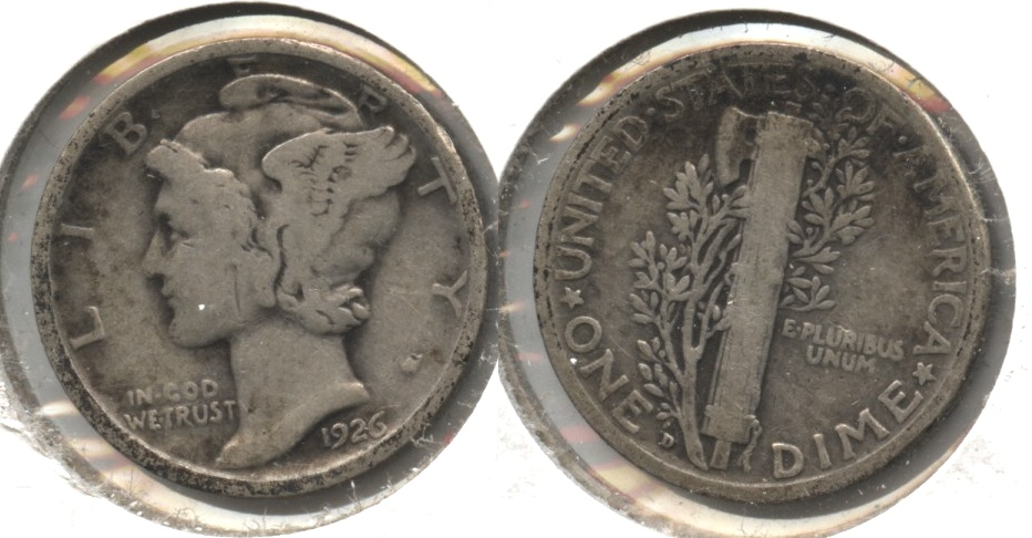 1926-D Mercury Dime Good-4 #e