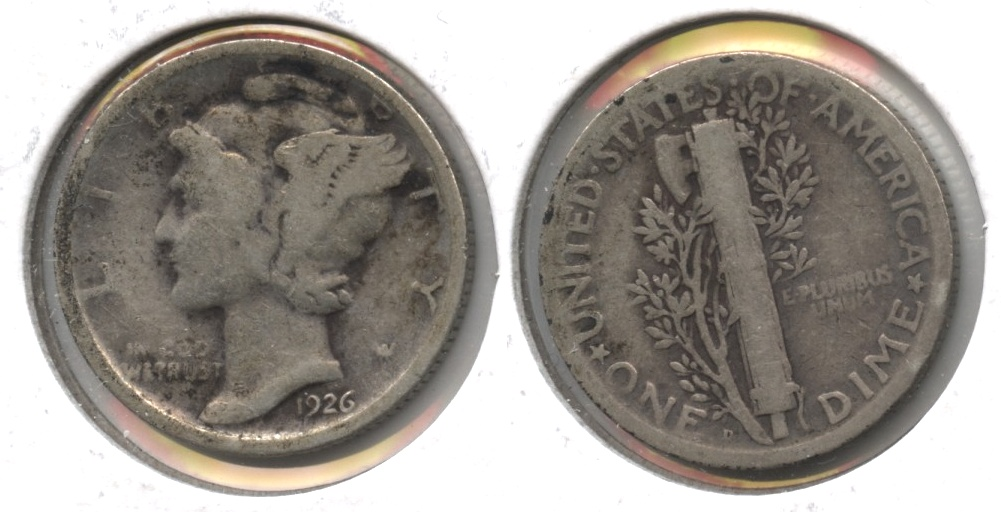1926-D Mercury Dime Good-4 #m